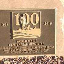 World War I Centennial Memorial