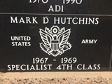 Mark D Hutchins