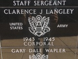 Clarence J Langley